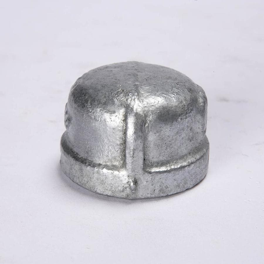 B&K 1/4-in dia Galvanized Cap Fittings