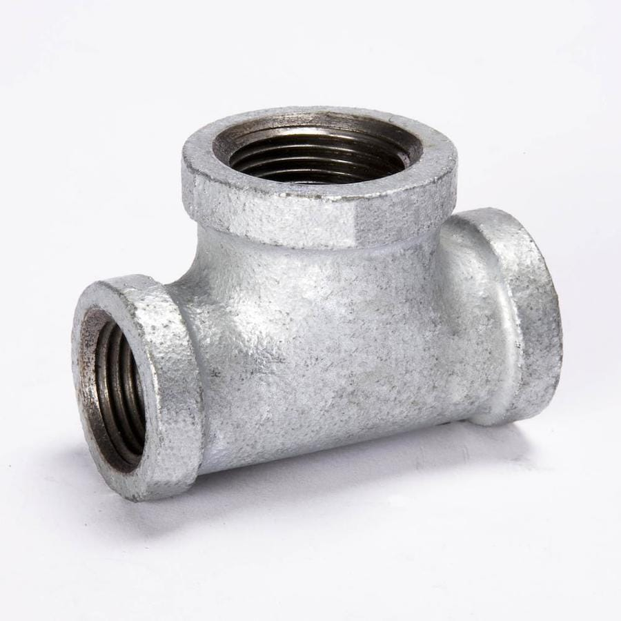 B&K 3/4-in dia Galvanized Tee Fittings