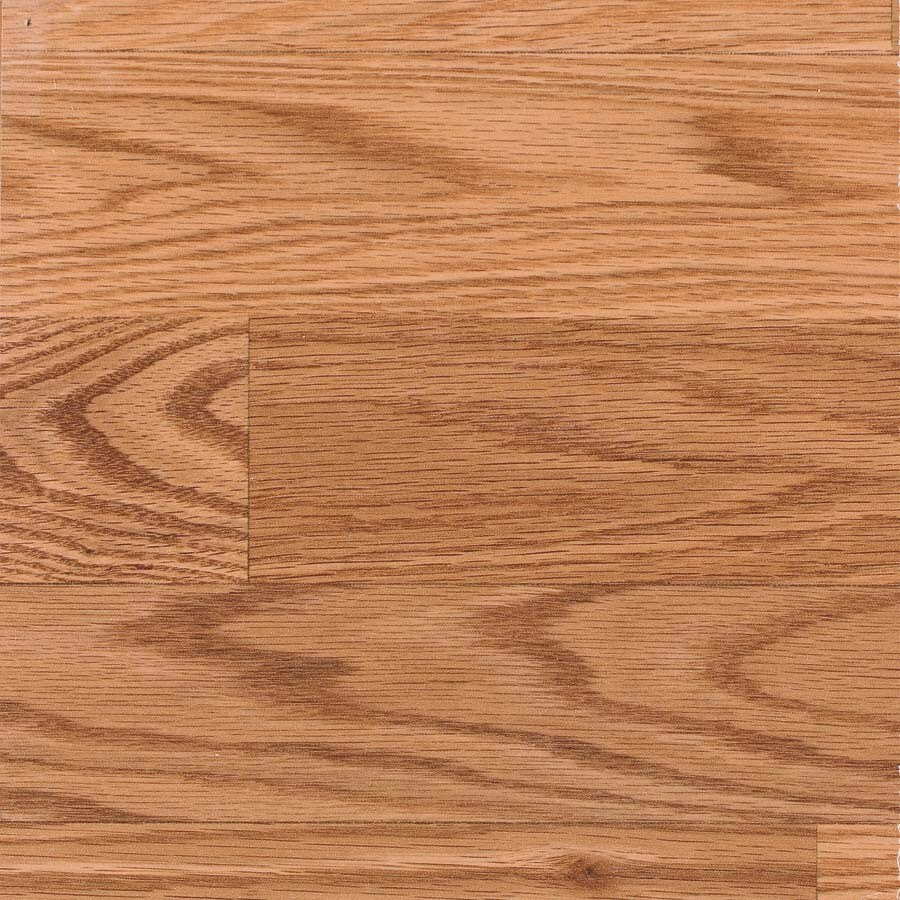 allen + roth Laminate 7.48-in W x 3.93-ft L Natural Oak Wood Plank Laminate Flooring