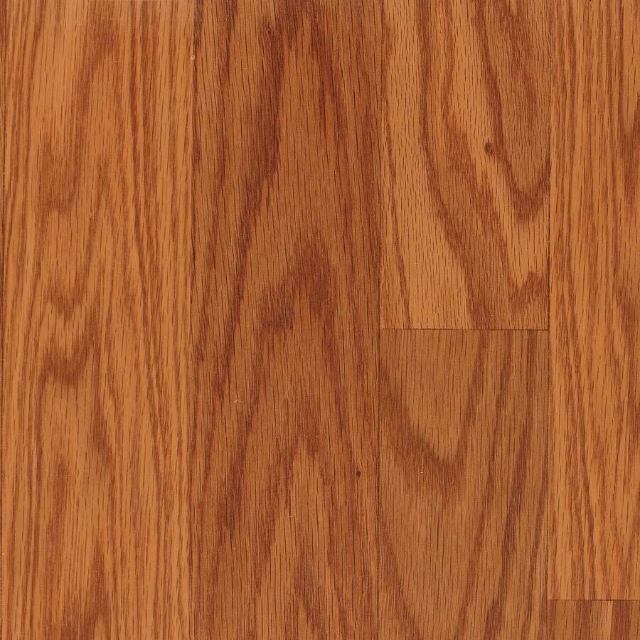 allen + roth Embossed Oak Wood Planks Sample (Butterscotch Oak)
