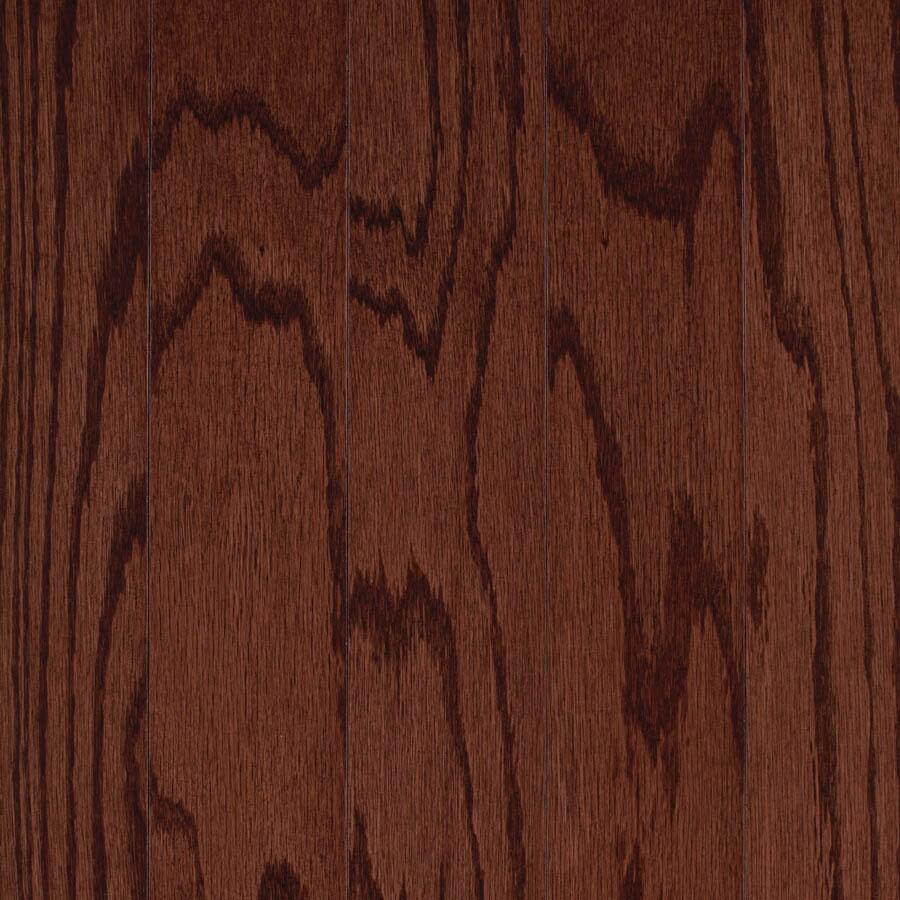 allen + roth 3.25-in W Prefinished Oak Locking Hardwood Flooring (Cherry)
