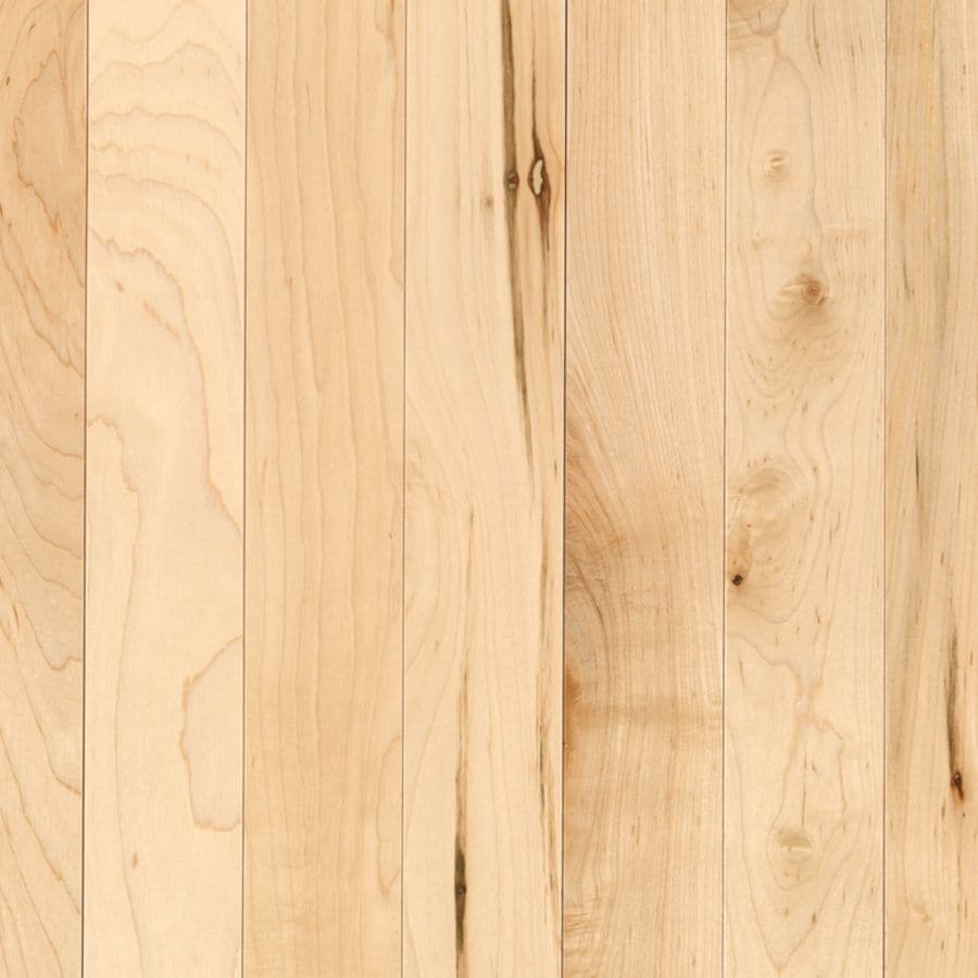 Shop allen roth country natural maple hardwood for 2 25 hardwood flooring