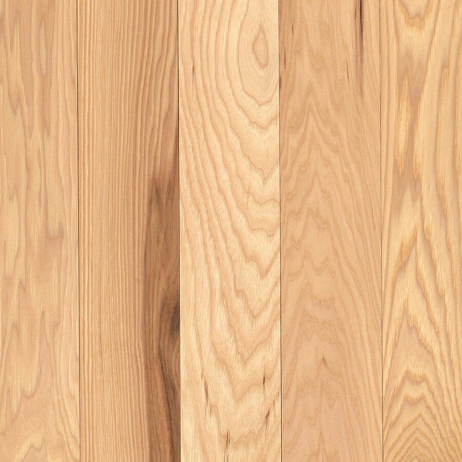 allen + roth Hickory Hardwood Flooring Sample (Country Natural Hickory)