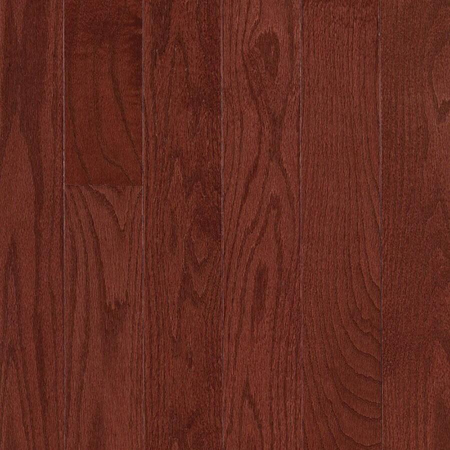 allen + roth 0.75-in Oak Hardwood Flooring Sample (Cherry)
