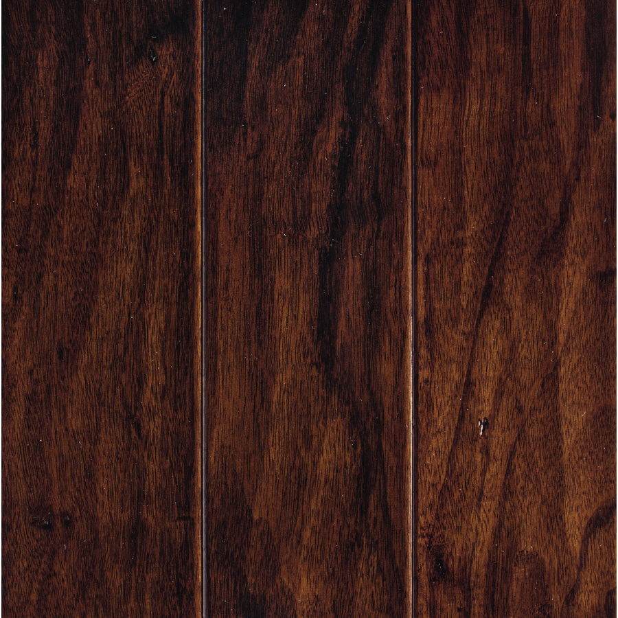 Mohawk Pienza 5-in W Prefinished Hickory Engineered Hardwood Flooring (Cognac Hickory)