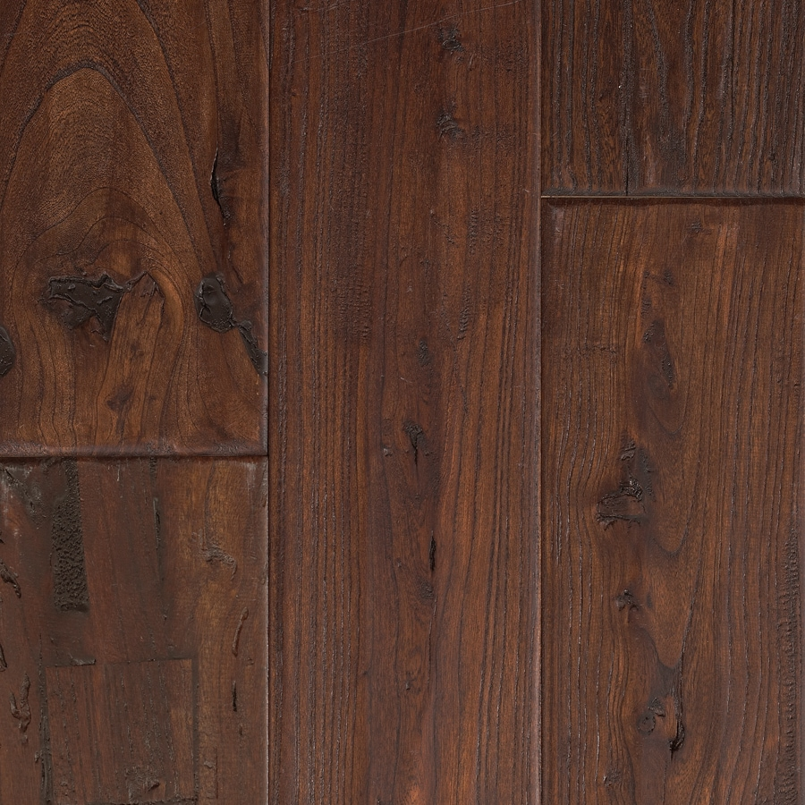 Shop mohawk montefino 5 in antique elm walnut elm hardwood for Hardwood floors or carpet
