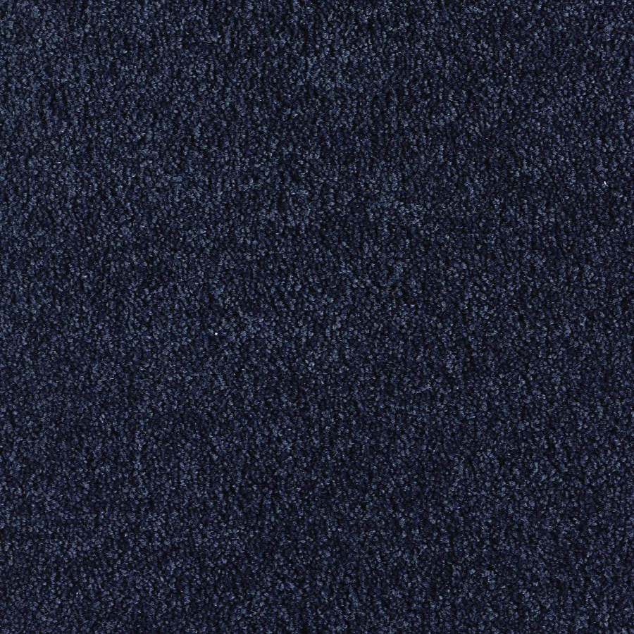 Green Living Blue Eclipse Textured Indoor Carpet