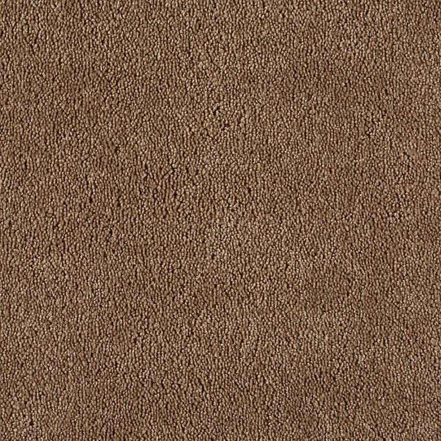Shop Green Living Gleaming Bronze Textured Indoor Carpet ...