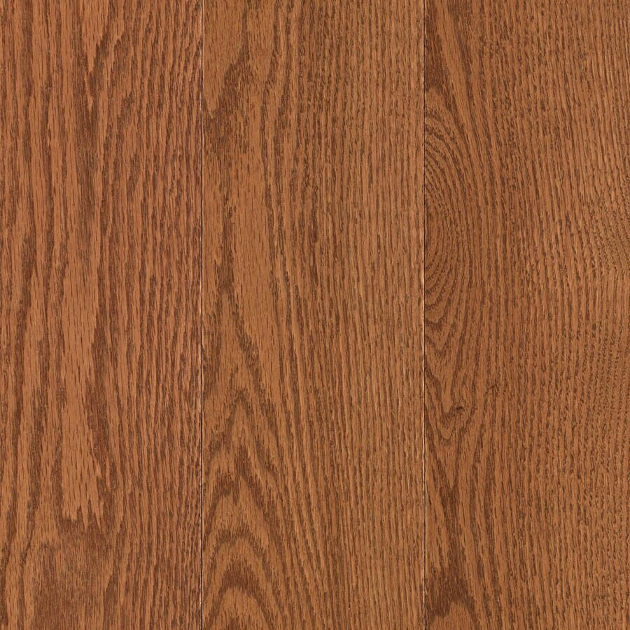 allen + roth 3.25-in W Prefinished Oak Locking Hardwood Flooring (Gunstock)