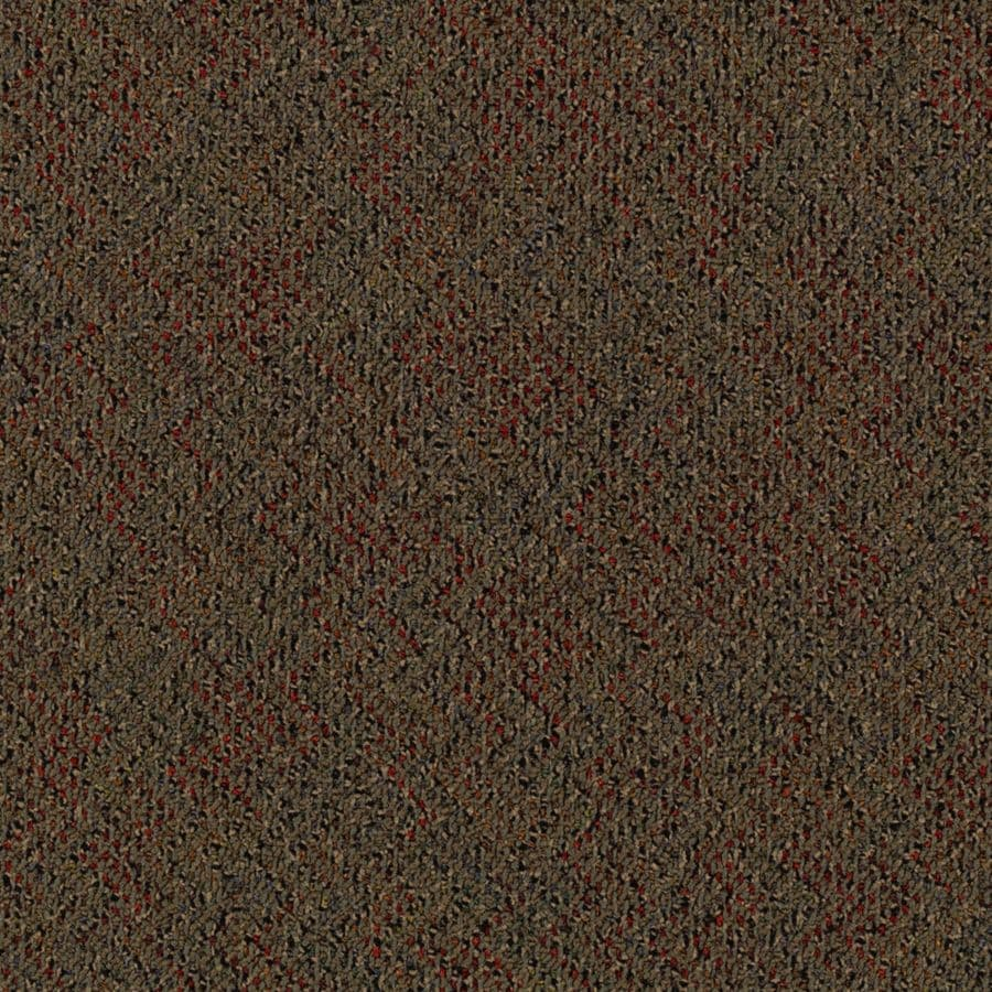 Mohawk 18-Pack 24-in x 24-in Aristotle Textured Glue-Down Carpet Tile