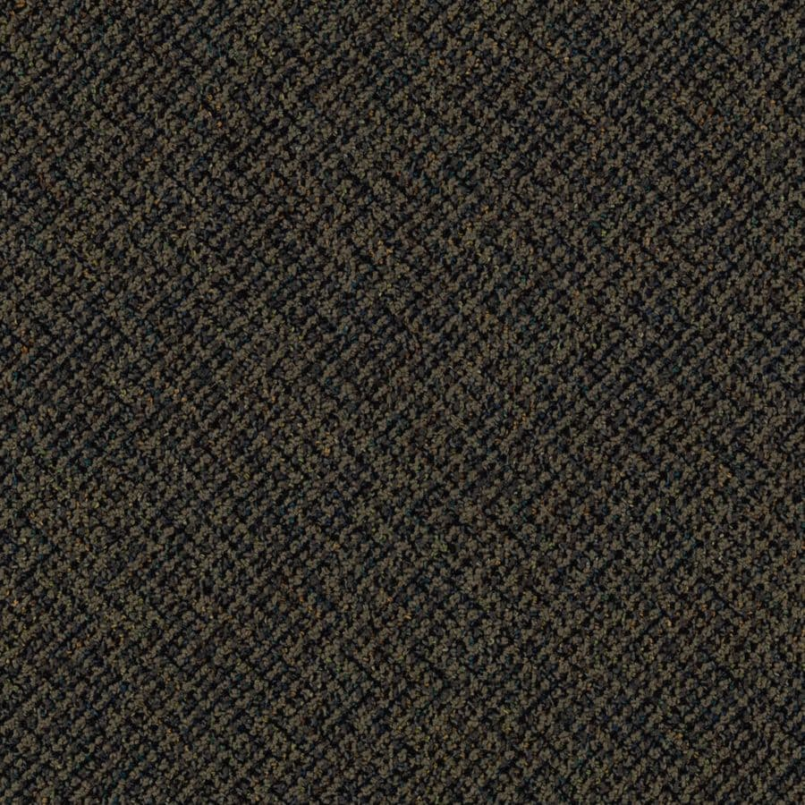 Mohawk 18-Pack 24-in x 24-in Freud Textured Glue-Down Carpet Tile