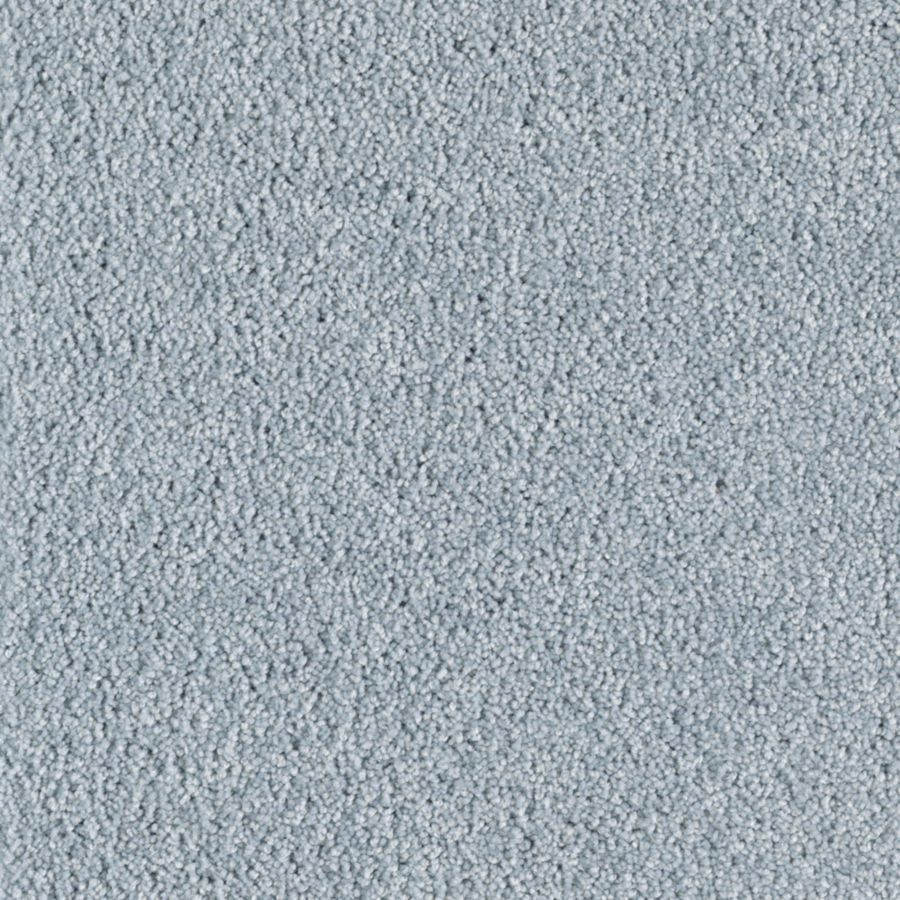 Mohawk Essentials Sea Bright Powder Blue Textured Indoor Carpet