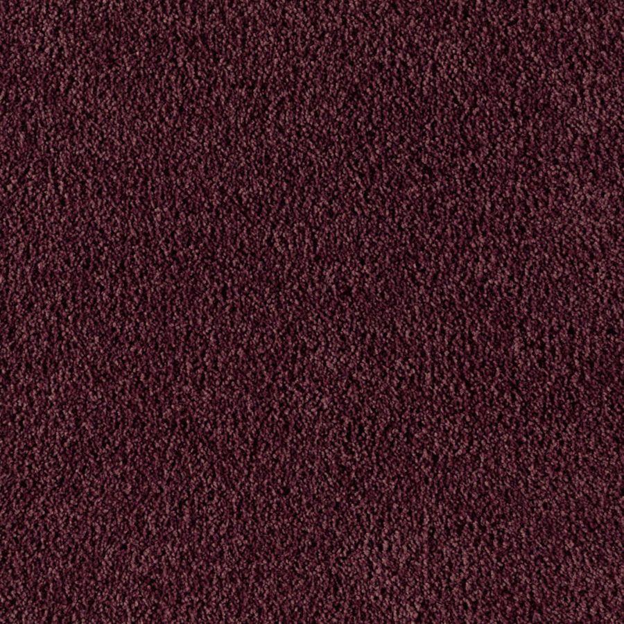Mohawk Essentials Sea Bright Dark Plum Textured Indoor Carpet