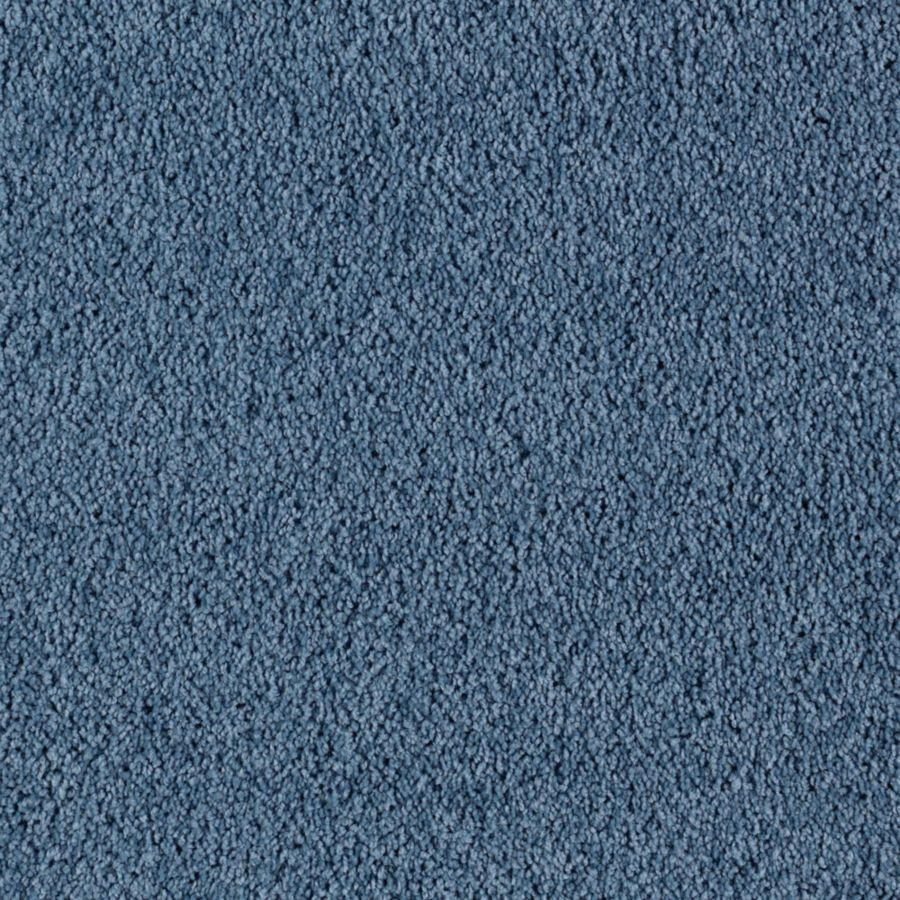 Mohawk Feature Buy Night Blue Textured Indoor Carpet
