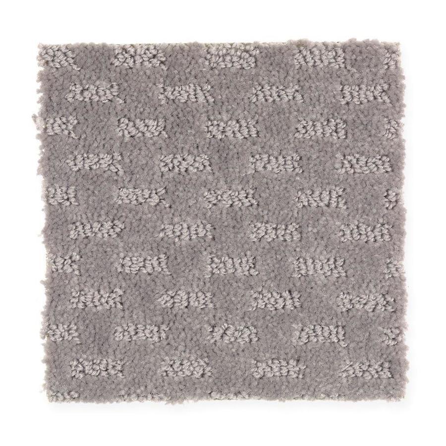 Mohawk Essentials Rejuvenation Mineral Grey Textured Indoor Carpet