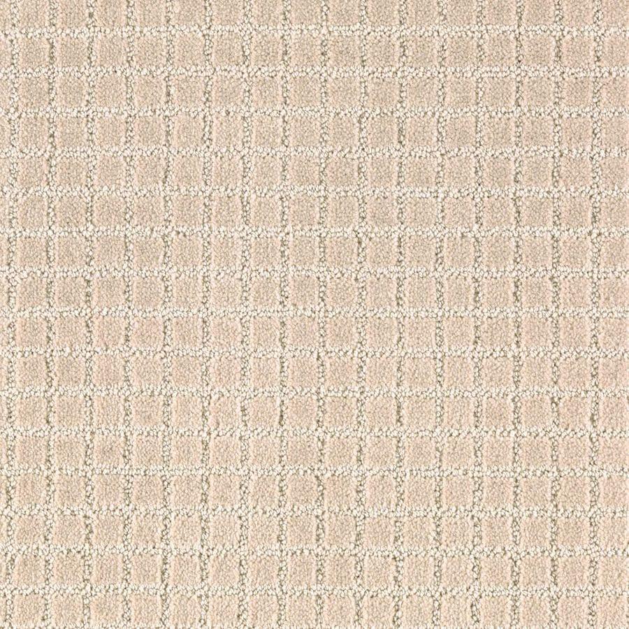 Mohawk Essentials Picture Perfect Coastal Beige Textured Indoor Carpet