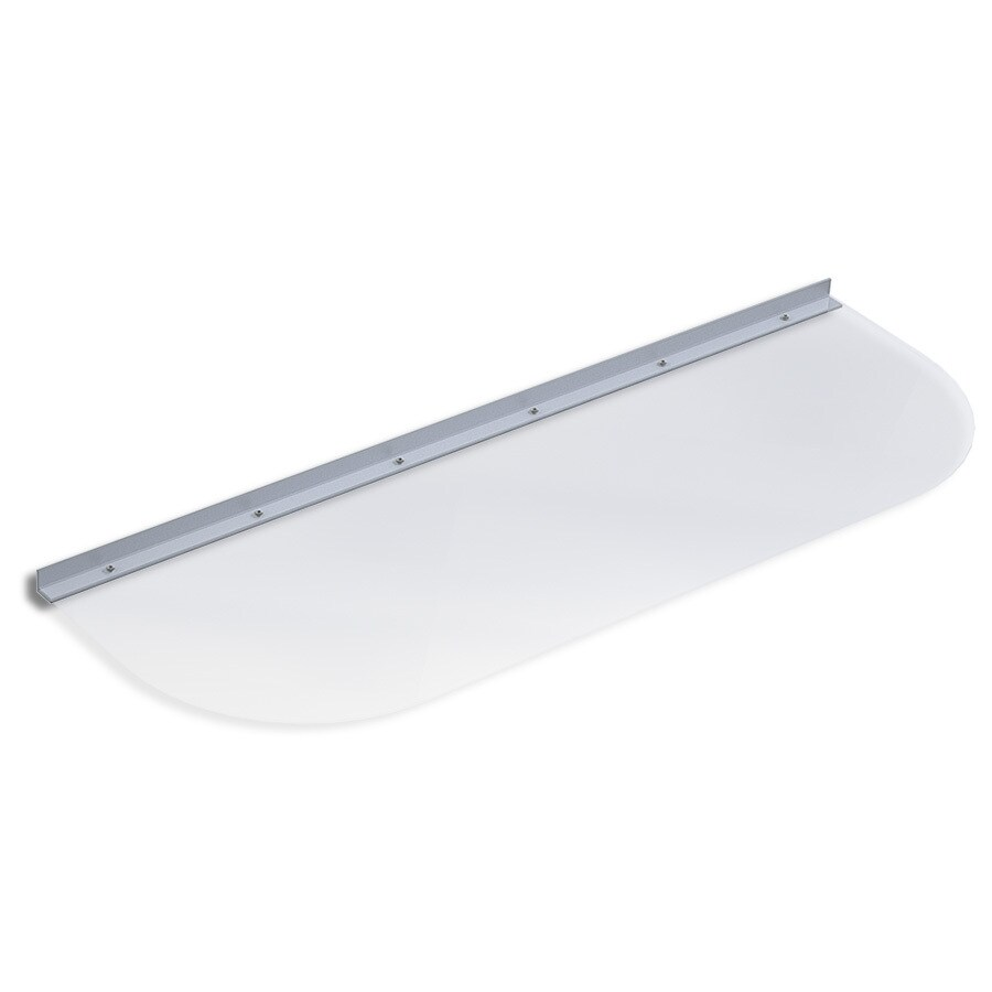 Ultra Protect 41-in x 14-in Clear Polycarbonate Elongated Basement Window Well Cover