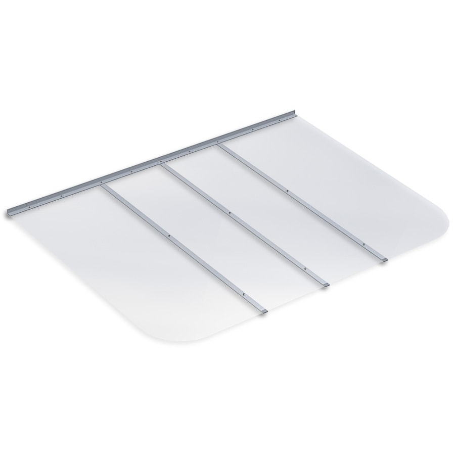 Shop Ultra Protect Clear Polycarbonate Rectangular Egress Basement Window Well Cover At Lowes Com