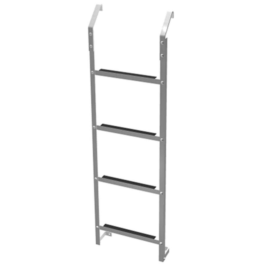 Ultra Protect 4-ft Aluminum 250-lb Window Well Escape Ladder