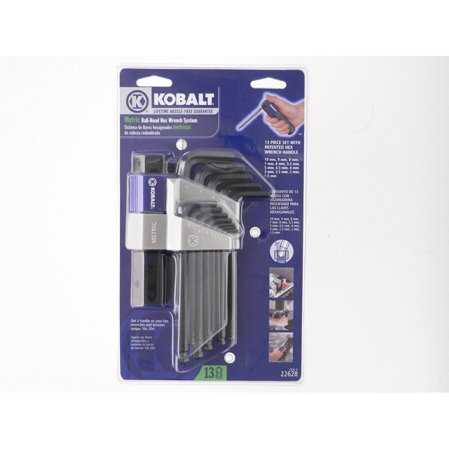 Kobalt 13-Piece Ball Hex Key Set