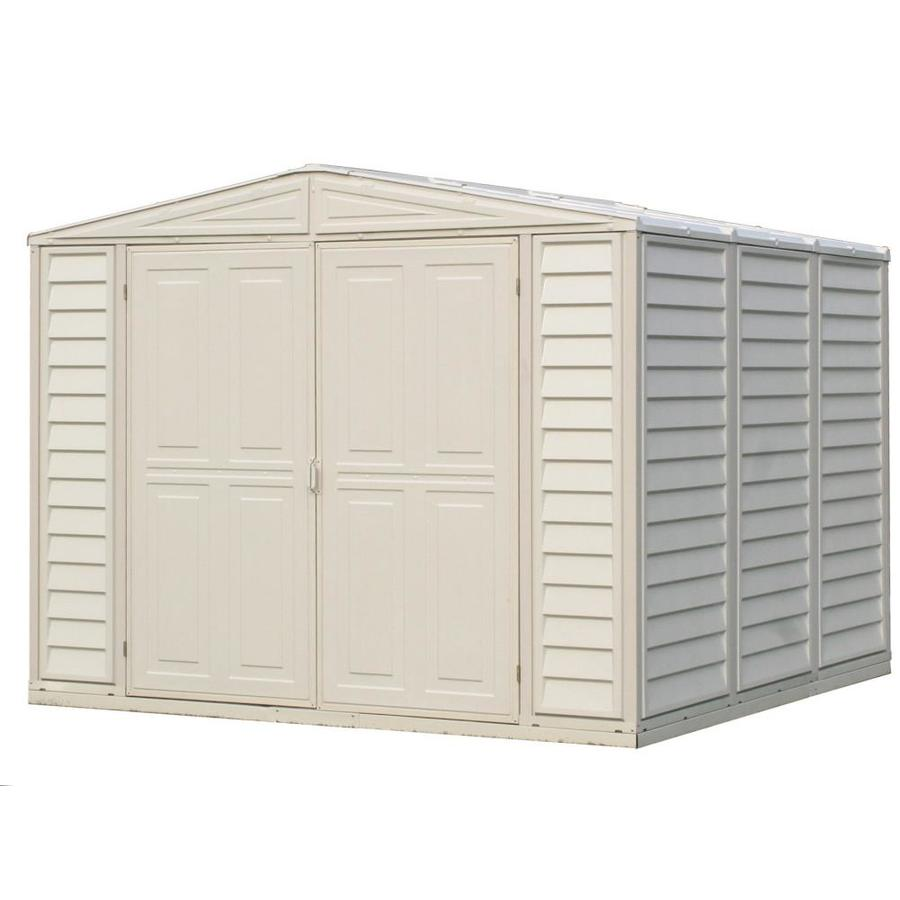 DuraMax Building Products Storage Shed (Common: 8-ft x 8-ft; Actual Interior Dimensions: 7.76-ft x 7.76-ft)