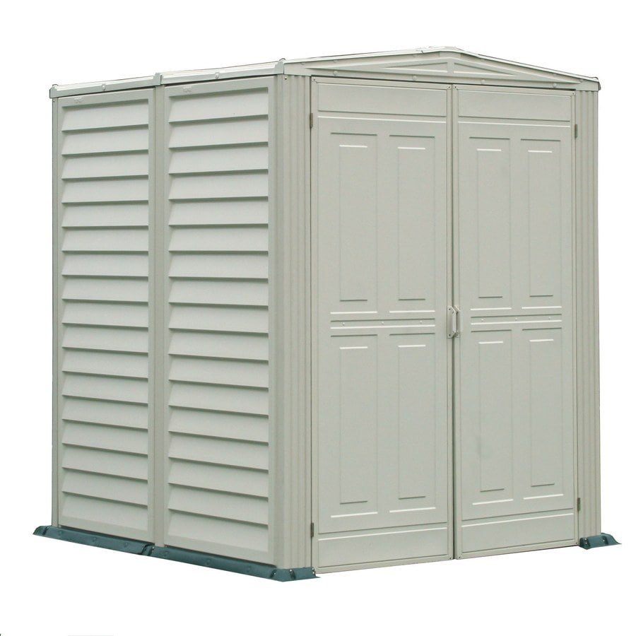 Storage Shed (Common: 5-ft x 5-ft; Actual Interior Dimensions: 5.18-ft x 5.18-ft) Product Photo
