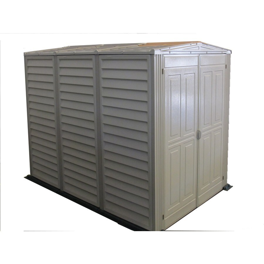 DuraMax Building Products Storage Shed (Common: 5-ft x 8-ft; Actual Interior Dimensions: 5.18-ft x 7.76-ft)