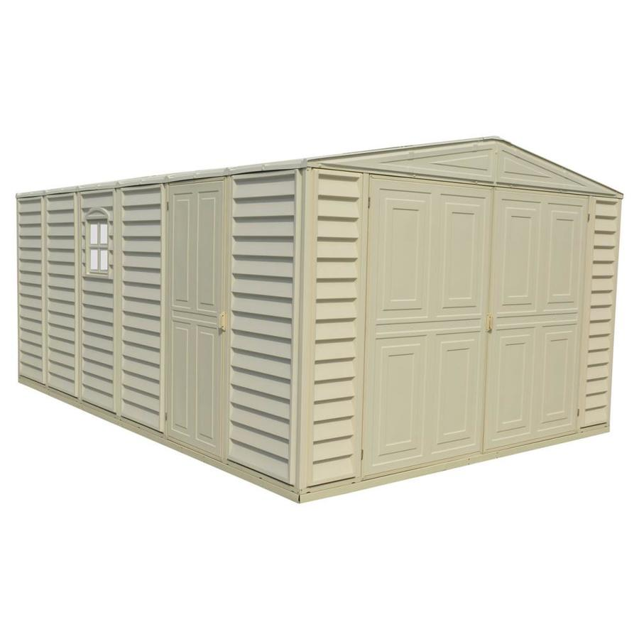 DuraMax Building Products Storage Shed (Common: 10-ft x 15-ft; Actual Interior Dimensions: 10.46-ft x 15.41-ft)