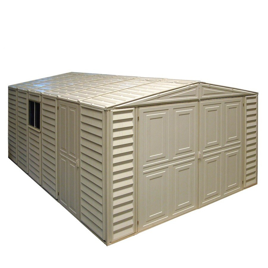 DuraMax Building Products Storage Shed (Common: 10-ft x 18-ft; Actual Interior Dimensions: 10.46-ft x 18.08-ft)