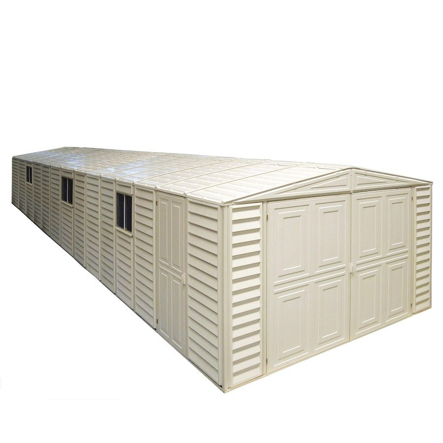 DuraMax Building Products Storage Shed (Common: 10-ft x 28-ft; Actual Interior Dimensions: 10.46-ft x 28.33-ft)