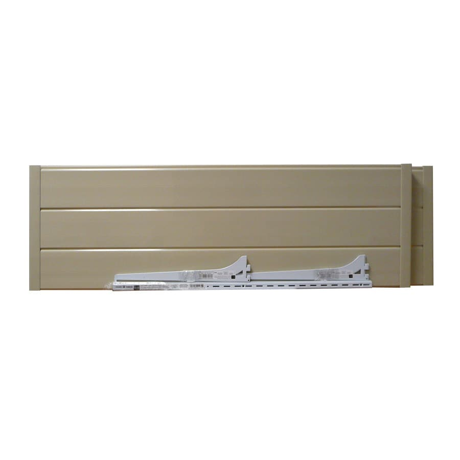 DuraMax Building Products Ivory Plastic Storage Shed Shelf