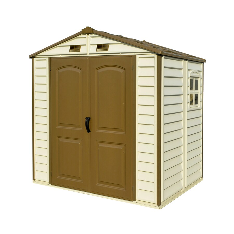 Storage Shed (Common: 8-ft x 5-ft; Actual Interior Dimensions: 7.7-ft x 5.1-ft) Product Photo