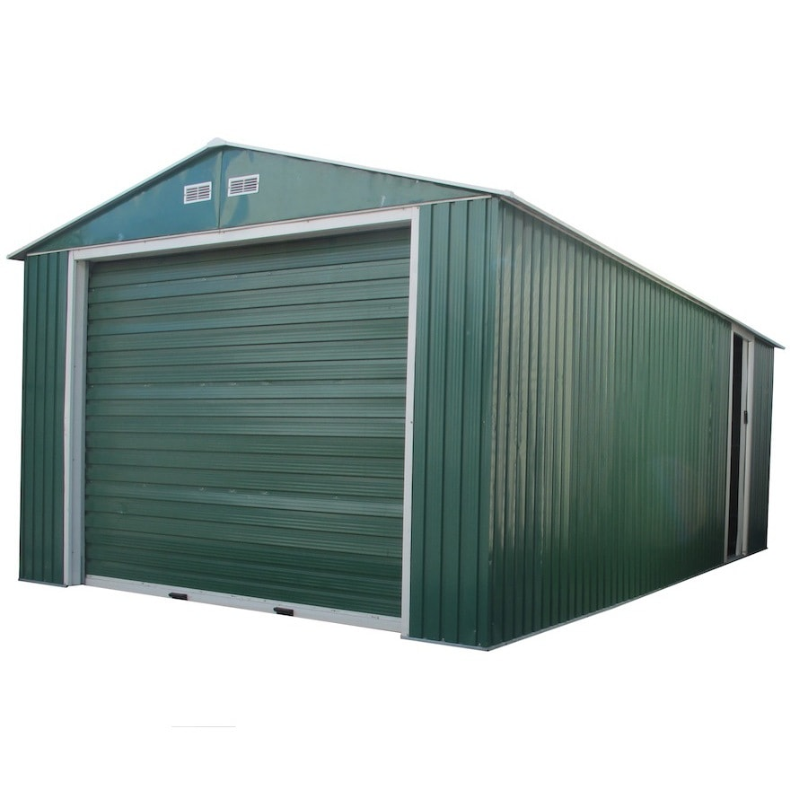 DuraMax Building Products 12-ft x 26-ft Metal Single Car Garage Building