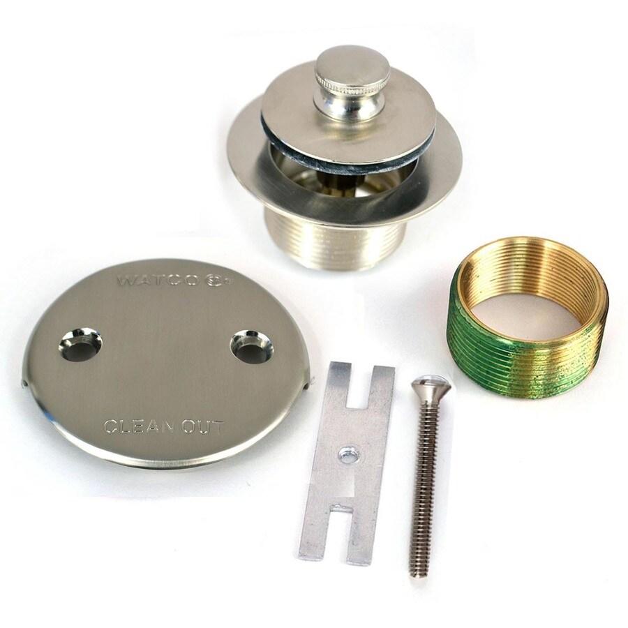 WATCO 1-1/2-in Brushed Nickel Metal Trim Kit