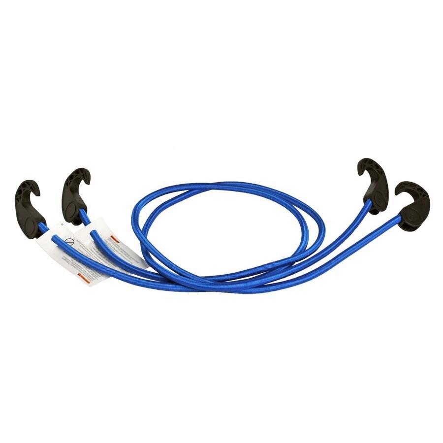Blue Hawk 4-ft Rubber Core Steel Hook Bungee Cord
