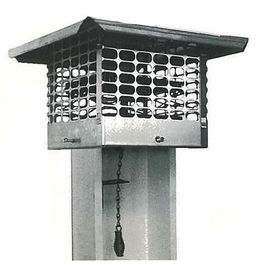 The Forever Cap 17-in W x 17-in L Stainless Steel Stainless Steel Square Chimney Cap