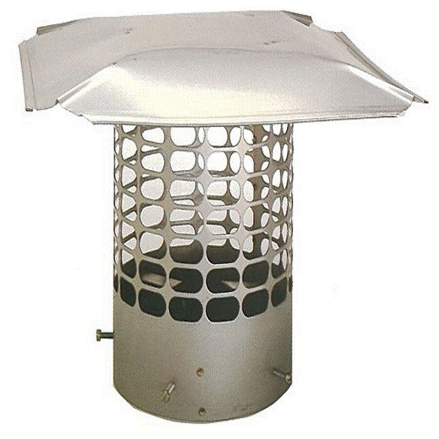 The Forever Cap 9.25-in W x 9.25-in L Stainless Steel Stainless Steel Square Chimney Cap