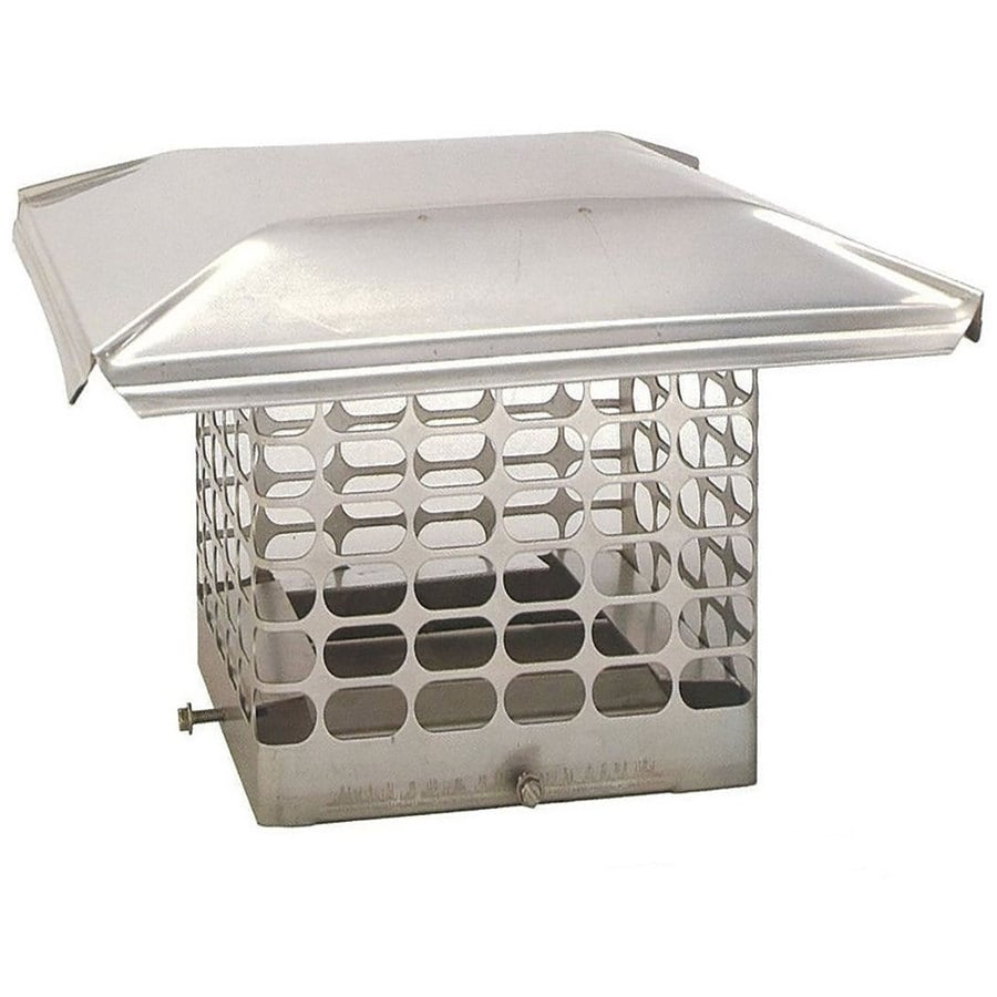 The Forever Cap 8-in W x 8-in L Stainless Steel Square Chimney Cap