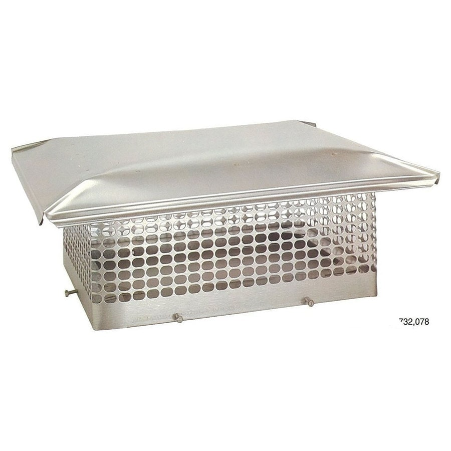 The Forever Cap 6-in W x 11.5-in L Stainless Steel Rectangular Chimney Cap