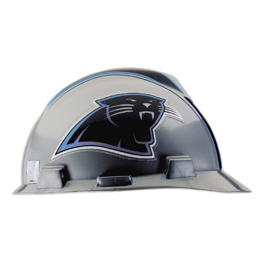 MSA Safety Works Standard Size Carolina Panthers NFL Hard Hat