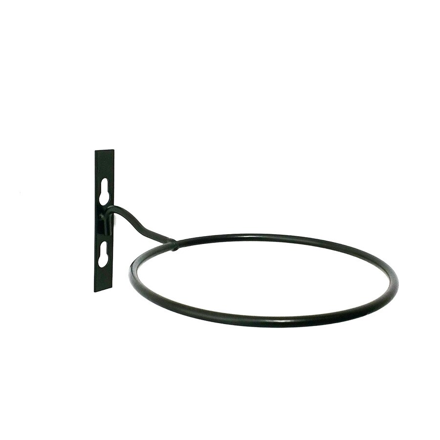 Patio Life 9.24-in Black Steel Traditional Plant Hook
