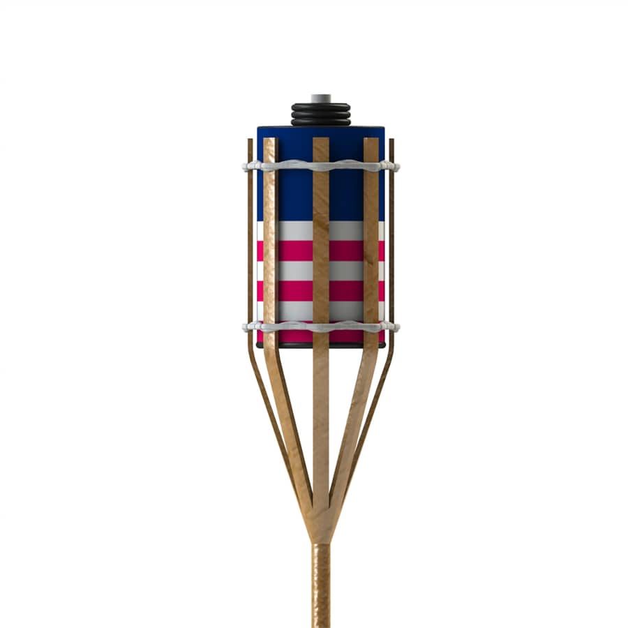 shop patio life 4 pack 4 ft patriotic bamboo garden
