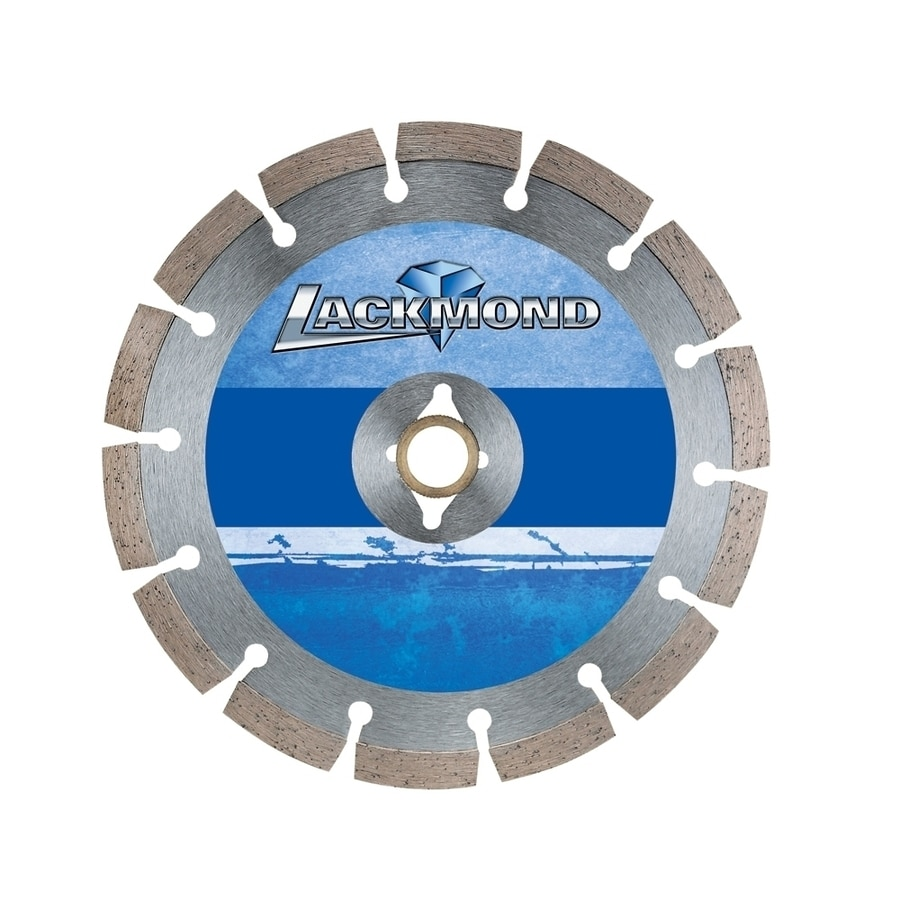 Lackmond 6-in 11-Tooth Wet or Dry Segmented Diamond-Tipped Steel Circular Saw Blade
