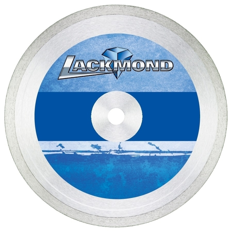 Lackmond 7-in 1-Tooth Wet or Dry Continuous Diamond-Tipped Steel Circular Saw Blade