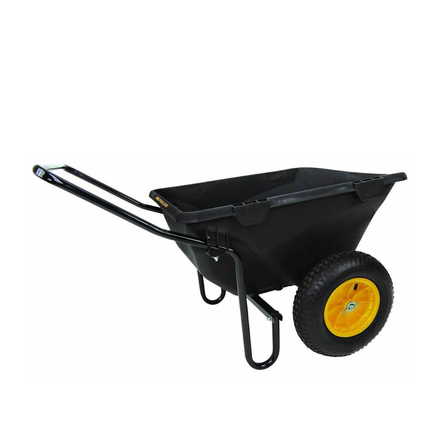 Polar 7-cu ft Poly Cub Cart Wheelbarrow