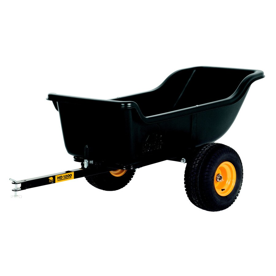 Polar 15-cu ft Plastic Dump Cart