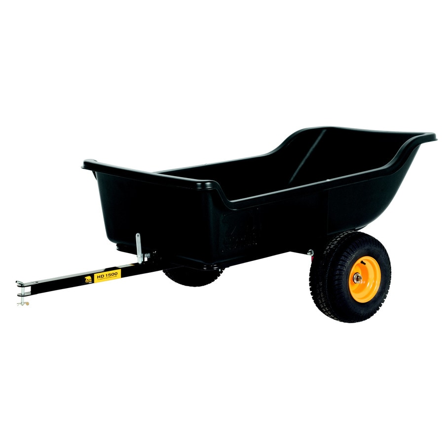 Shop Polar 22 Cu Ft Plastic Dump Cart At Lowes Com