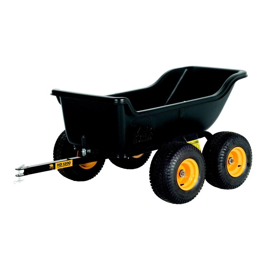 shop polar 15 cu ft plastic dump cart at. Black Bedroom Furniture Sets. Home Design Ideas