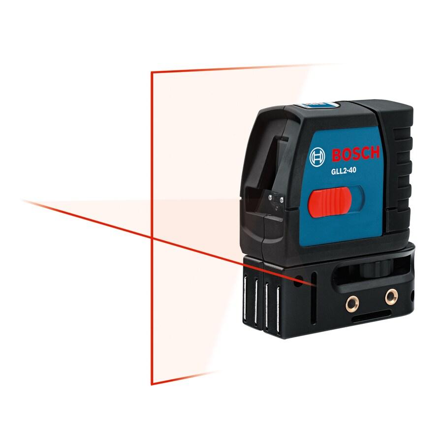 Bosch 30-ft Laser Chalkline Self-Leveling Cross-Line Laser Level