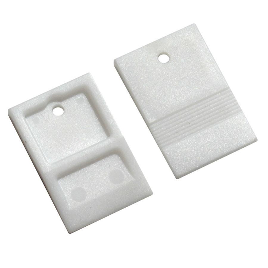 TAVY 100-Pack 1-in W x 1-in L 1/8-in White Plastic Tile Spacer
